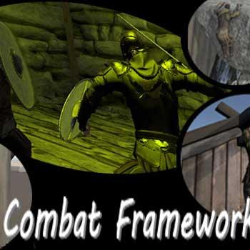 第三人称战斗框架