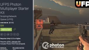 UFPS Photon Multiplayer Starter Kit